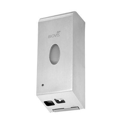 Saboneteira Automática com Sensor Espuma Inox Escovado Noble Biovis