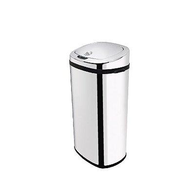 Lixeira Inox Automática com Sensor Bionox 42 Litros Biovis