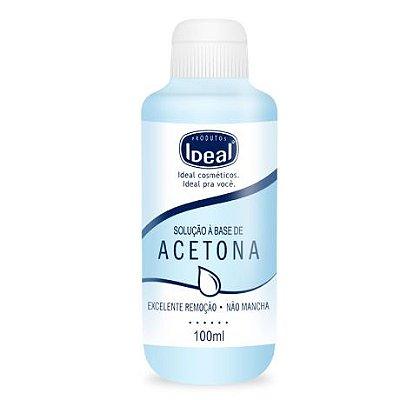 Removedor de esmaltes Ideal A Base Acetona 100ml