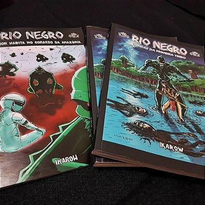 e) OWOJO - 3 quadrinhos - O MONSTRO + RIO NEGRO 1 + RIO NEGRO 2 (FRETE INCLUÍDO)