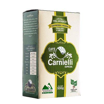 Café Torrado e Moído Carnielli Espresso Vácuo - Especial (500g)