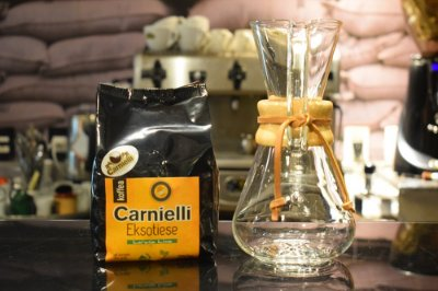Kit Café Exótico Carnielli e Chemex 6 xícaras