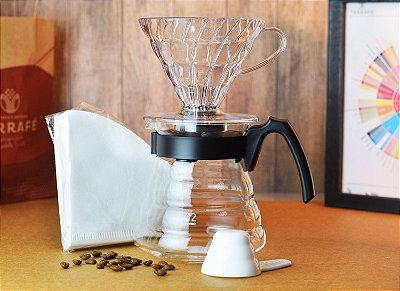 Kit Hario V60 para fazer Café