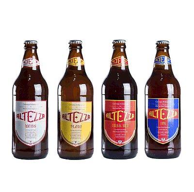 Combo Cerveja Artesanal - Weiss, Blond, Irish e IPA
