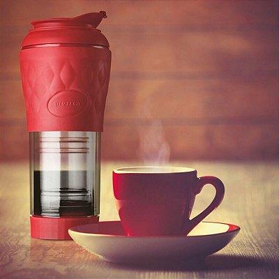 Cafeteira Pressca Vermelha