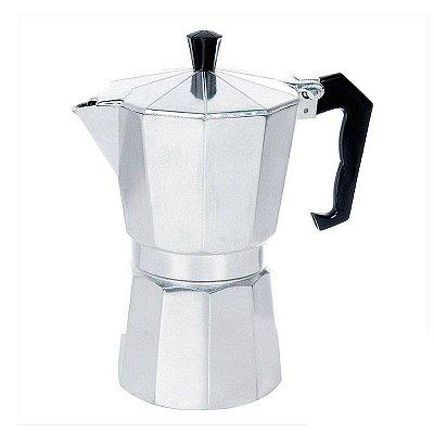 Cafeteira Italiana 6 xícaras Alumínio