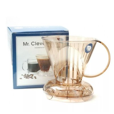Cafeteira E Infusor Clever Dripper 300ml + 100 Filtros