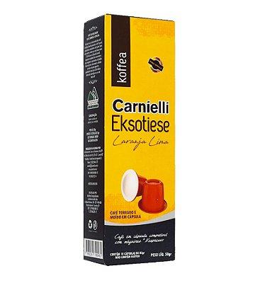 Cápsulas Carnielli Exótico - Laranja Lima