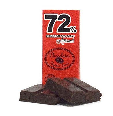 72% Cacau - Chocolates Espírito Santo (25g)