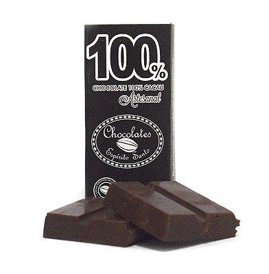 100% Cacau - Chocolates Espírito Santo (25g)