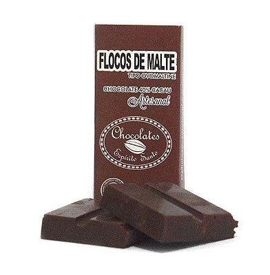 40% Cacau com Flocos de Malte - Chocolates Espírito Santo (25g)