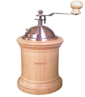 Moedor de café manual Hario madeira - 40g
