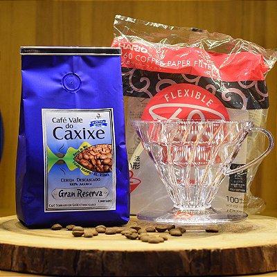 Café Vale do Caxixe Gran Reserva + Suporte + Filtro