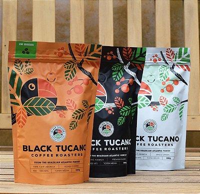 Kit 3 Cafés BlackTucano