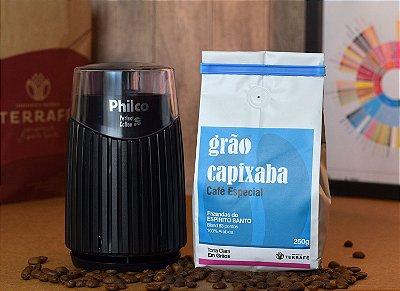 Moedor Philco elétrico + GANHE 1 Café Grão Capixaba