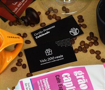 Cartão Presente Terrafé 200