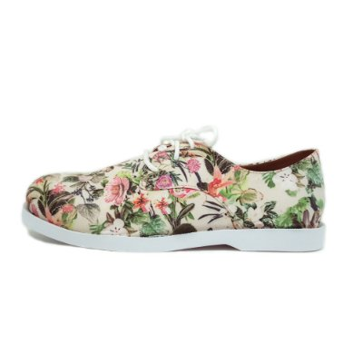 Oxford Floral White
