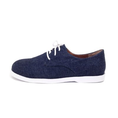 Oxford Vegano Jeans Blue