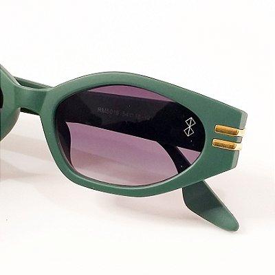 Óculos De Sol Mustbe Verde Musgo Fosco