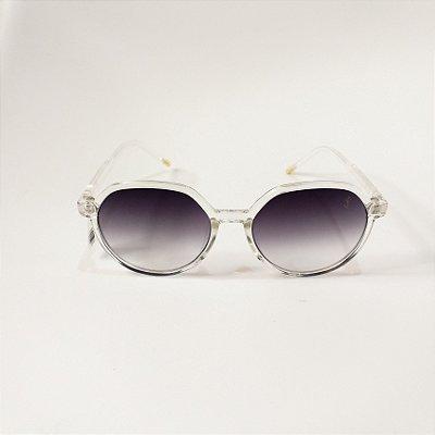 Óculos De Sol Mustbe Transparente