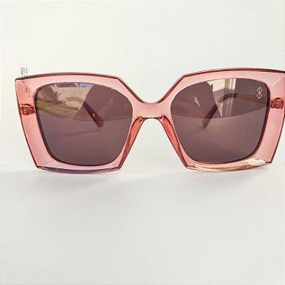 Óculos De Sol Mustbe Salmão