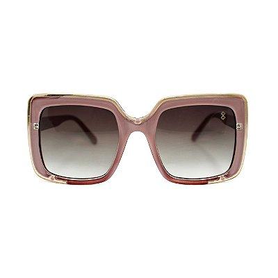 Óculos de Sol MustBe Square Nude&Gold