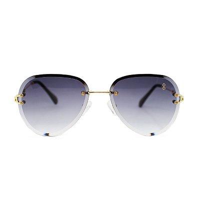 Óculos de Sol MustBe Holo Aviator Gray
