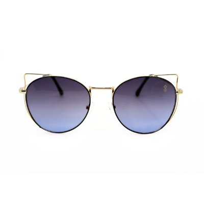 Óculos de Sol MustBe Kitty Round Blue Slim