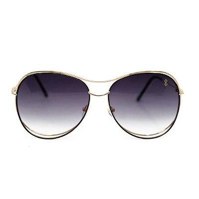 Óculos de Sol MustBe Curves Gold&Gray Slim