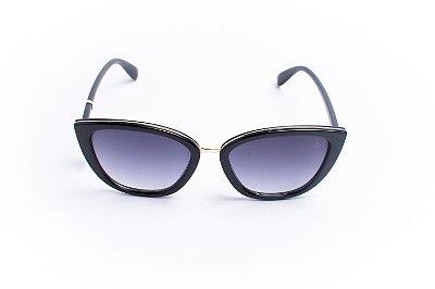 Óculos De Sol Mustbe Black Dourado