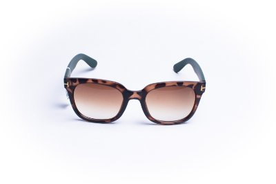 Óculos De Sol Mustbe Tigrado verde