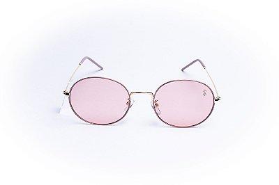 Óculos De Sol Mustbe Rosa