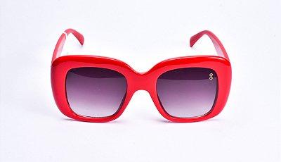 Óculos De Sol Mustbe Gabriela Markus Vermelho
