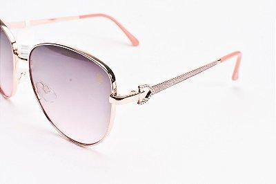 Óculos De Sol Mustbe Gabriela Markus Rosa