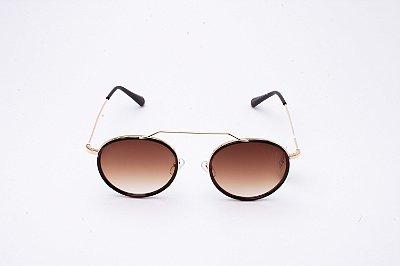 Óculos De Sol Mustbe Marrom
