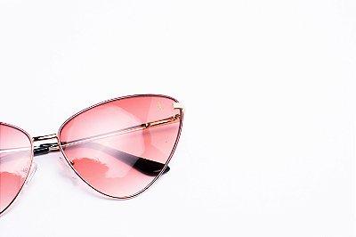 Óculos De Sol Mustbe Claus E Vanessa Rosa Bebe