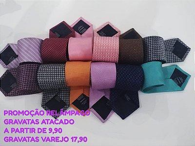 KIT GRAVATAS - ACIMA 15 PEÇAS