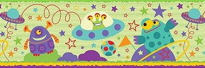 Faixa Infantil Disco Voador e ET