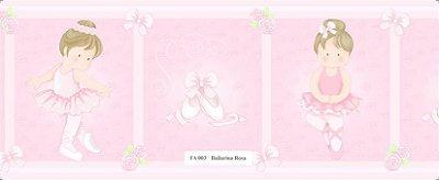 Faixa Bailarina Menina Rosa