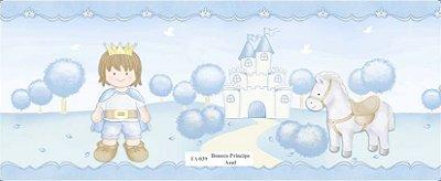 Faixa Príncipe Cavalo Castelo Azul