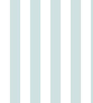 Papel Listrado Azul  e Branco