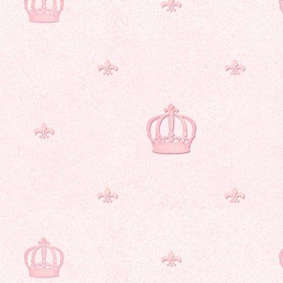 Papel de Parede Coroa Rosa