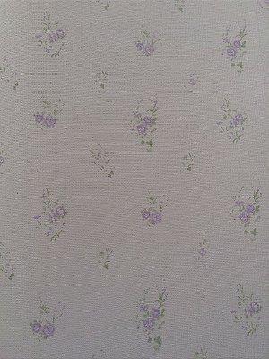 Papel de Parede Floral Lilás Bobinex Bambinos 3355