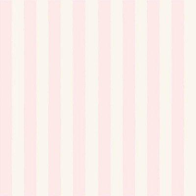 Papel de Parede Listras Rosas Bobinex Bambinos 3324