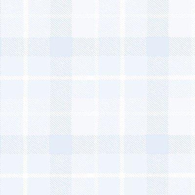 Papel de Parede Xadrez Azul Bobinex Bambinos 3327