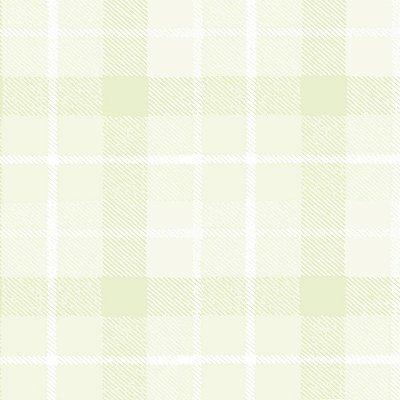 Papel de Parede Xadrez Verde Bobinex Bambinos 3329