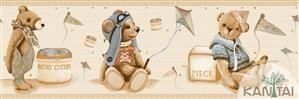 Faixa Infantil Vinílico Lavável Urso -  BB220702B
