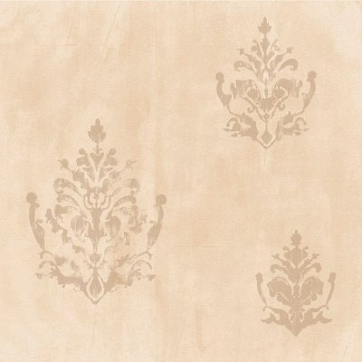 Papel de Parede Cimento Queimado Bege Com Arabesco Bobinex Natural 1437 Vinílico Lavável