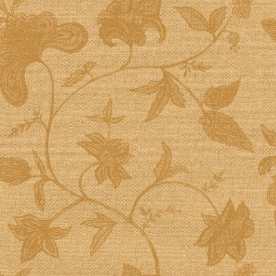 Papel de Parede Floral Palha Bege Escuro Bobinex Natural 1406 Vinílico Lavável