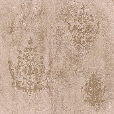Papel de Parede Cimento Queimado Castor Com Arabesco Bobinex Natural 1440 Vinílico Lavável